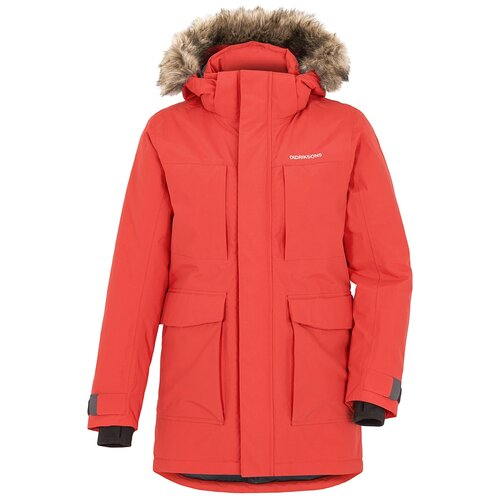 Куртка для юноши MADI 503442-382 Didriksons, Размер 160, Цвет 382-красная лава