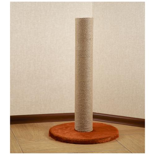 Когтеточка столбик BRAIL / джутовым плетением / напольная 40*40*55 см
