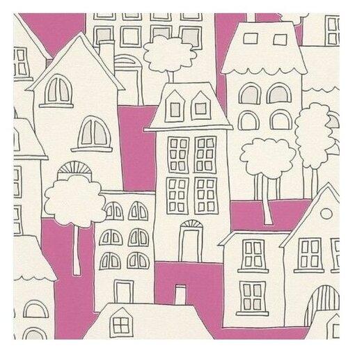 Фото - Обои бумажные детские Rasch 503463 Kids Teens 0.53х10.5м розовый/бежевый обои бумажные rasch portfolio 3 273205 0 53х10 м
