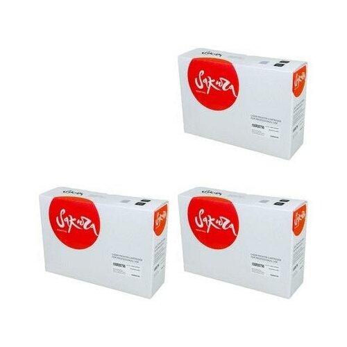 Sakura SA108R00796-3PK Картриджи комплектом 108R00796 черный 3 упаковки, совместимый [выгода 3%] Black 30К для Phaser 3635MFP_X 3635, 3635MFPV_SD, 3635MFPV_SED, 3635MFPV_XD, 3635MFPV_XED
