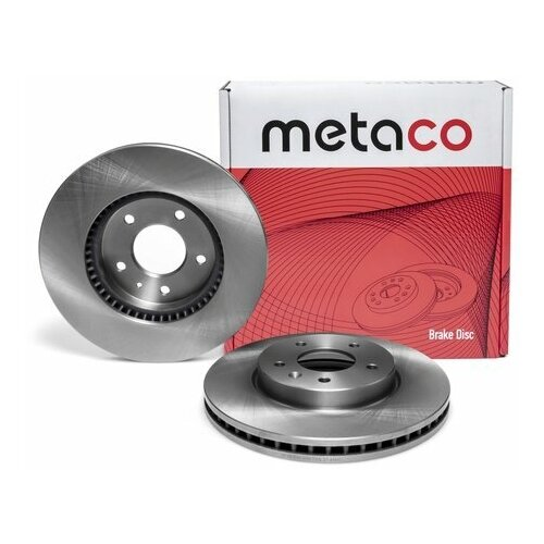 Диск тормозной передний вентилируемый (Производитель: METACO 3050056)
