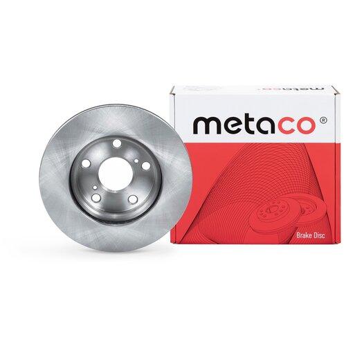 Диск тормозной передний вентилируемый Metaco 3050-128