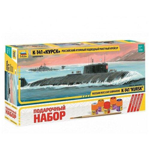 ZVEZDA Сборная модель Российский атомный подводный ракетный крейсер К-141