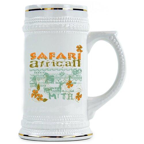 Пивная кружка Safari African , Африканкое сафари