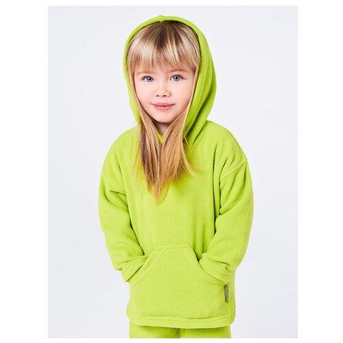 Купить Толстовка Bambinizon размер 98, зеленый, Толстовки
