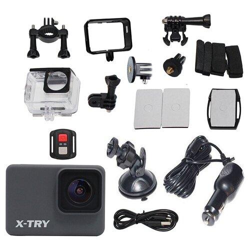 Фото - Экшн-камера X-TRY XTC261 RC Real 4K Wi-Fi Autokit экшн камера x try xtc262 real 4k wi fi power