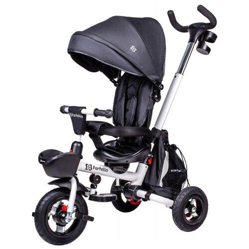 Купить Трехколесный велосипед Farfello S-01, черный, Трехколесные велосипеды