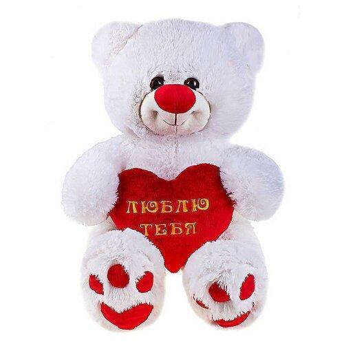 СмолТойс Мягкая игрушка «Мишутка с сердцем»