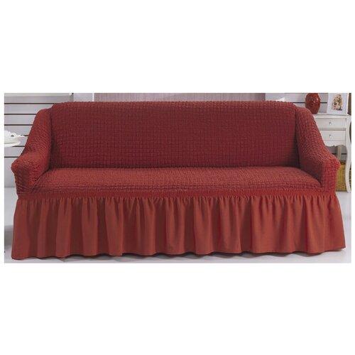 Чехол BULSAN для дивана двухместный, кирпичный