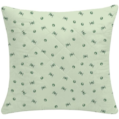 Подушка Василиса Магия Востока, тик 70 х 70 см зеленый