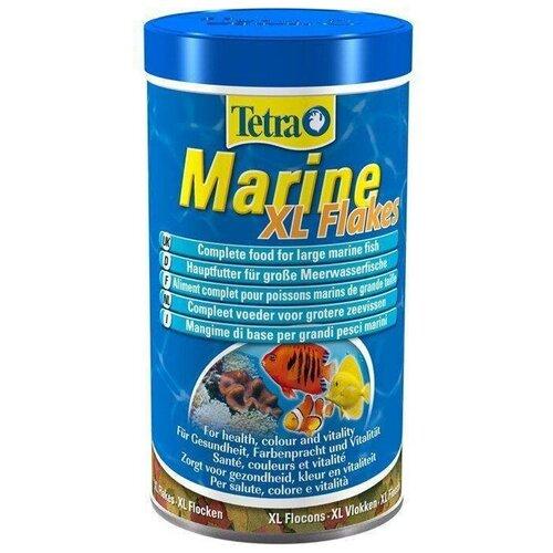 Фото - Сухой корм для рыб Tetra Marin Flakes XL 500 мл сухой корм для рыб tetra tetramin xl flakes 1000 мл