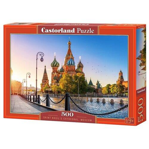 Купить Пазл Castorland Saint Basil's Cathedral, Moscow (B-52714), 500 дет., Пазлы