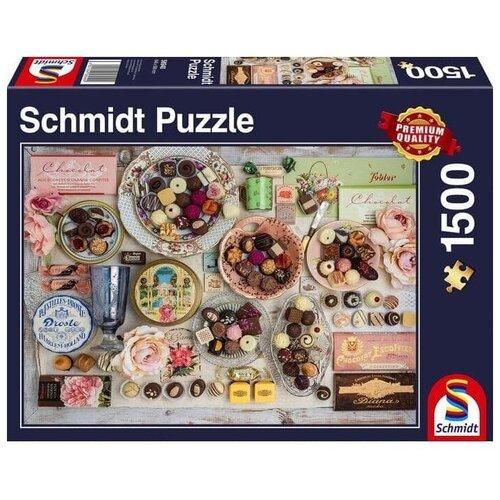 Пазл Schmidt Шоколадные вкусняшки (58940), 1500 дет.