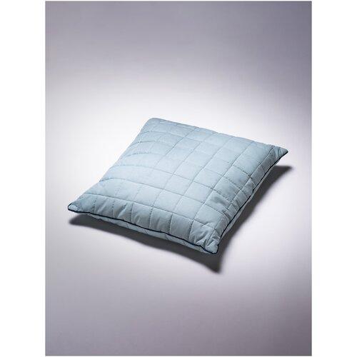 Подушка детская Соня 60х60 см Цвет Голубая дымка хлопок 100%