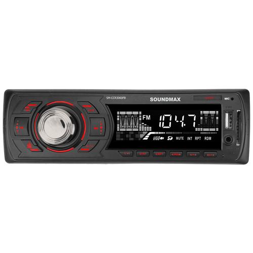 Автомагнитола SoundMAX SM-CCR3060FB, черный