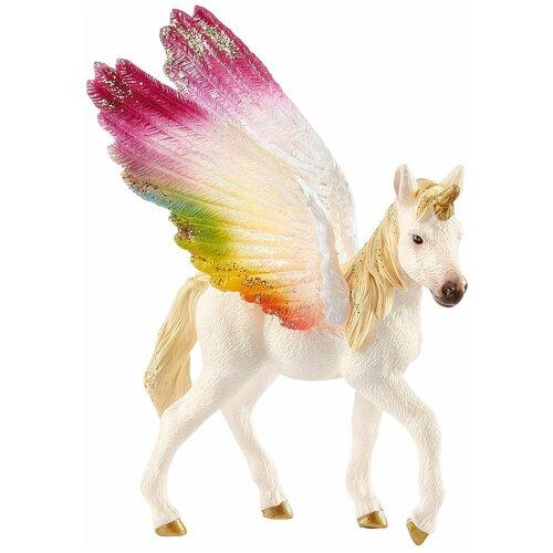 Фигурка Schleich Крылатый радужный единорог жеребенок 70577