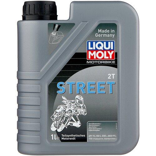 Полусинтетическое моторное масло LIQUI MOLY Motorbike 2T Street, 1 л по цене 819