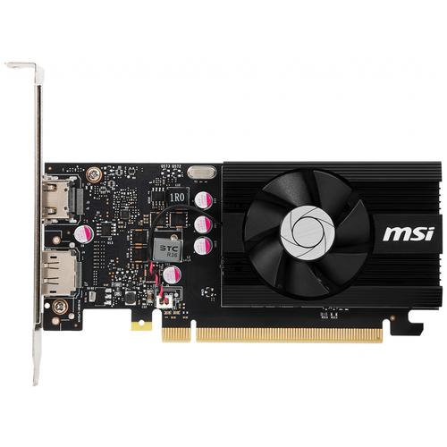 Видеокарта MSI GeForce GT 1030 2GD4 LP OC, Retail