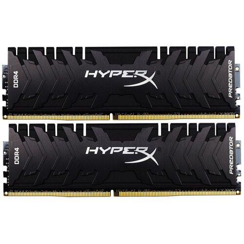 Оперативная память HyperX Predator 32GB (16GBx2) DDR4 3600MHz DIMM 288-pin CL17 HX436C17PB3K2/32