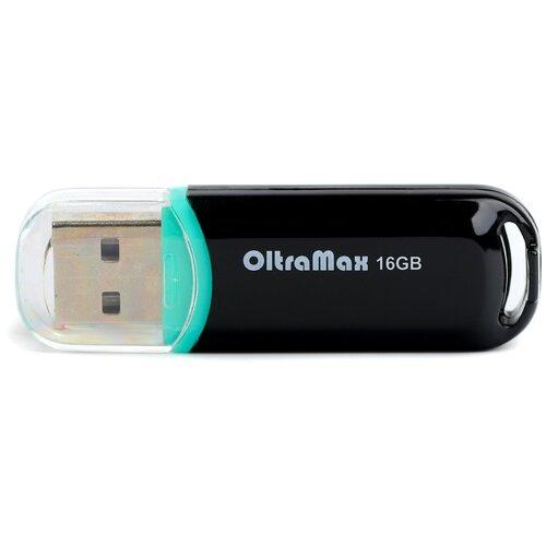 Фото - Флешка OltraMax 230 16 GB, black флешка oltramax 50 16 gb 1 шт dark violet