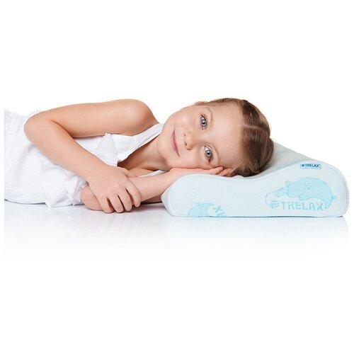 Подушка TRELAX ортопедическая для детей Respecta Baby П35 27 х 44 см белый