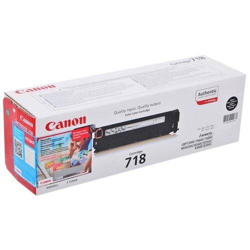 Фото - Картридж Canon 718BK (2662B002) набор картриджей canon 718bk vp 2662b005