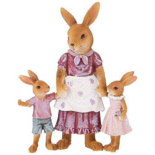 Фигурка кролики 15,5х7,5х19,5 см Lefard (162-896)