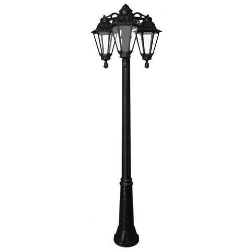 Fumagalli Уличный светильник Rut E26.157.S30.AXF1RDN, E27, 18 Вт, цвет арматуры: черный fumagalli уличный светильник rut e26 156 s30 wxf1rdn