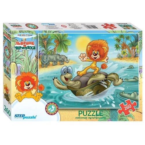Пазл Step puzzle Союзмультфильм Львёнок и Черепаха (74056), 260 дет.