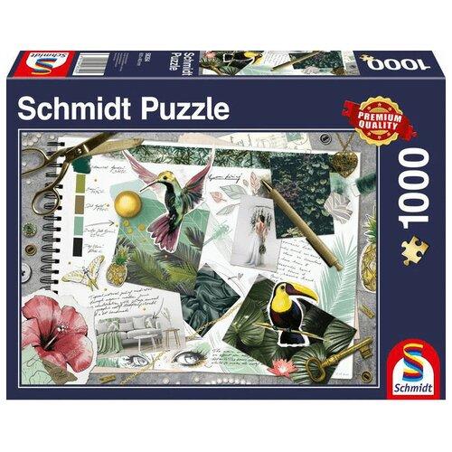 Пазл Schmidt Доска желаний (58354), 1000 дет. пазл schmidt все для кухни 58141 1000 дет