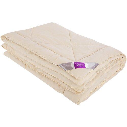 Одеяло Kupu-Kupu Овечья шерсть Classik, легкое, 172 х 205 см (сливочный) одеяло kupu kupu бамбук classic трикотажное легкое 172 х 205 см экрю