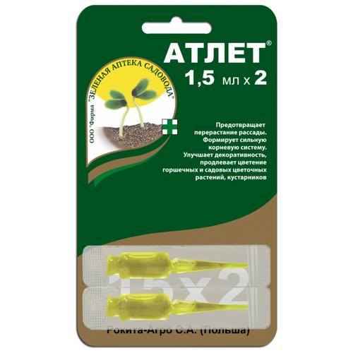 Удобрение Зеленая Аптека Садовода Атлет, 0.003 л