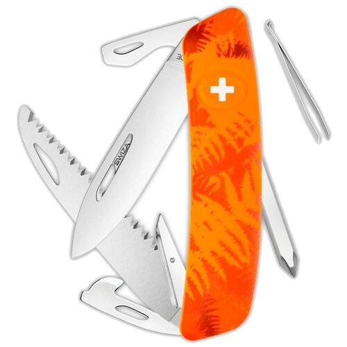 Нож многофункциональный SWIZA C06 Camouflage оранжевый
