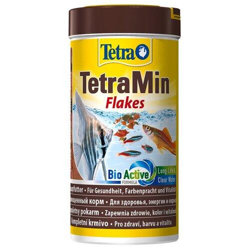 Фото - Сухой корм для рыб Tetra TetraMin flakes 250 мл сухой корм для рыб tetra tetramin xl flakes 1000 мл