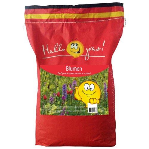 Смесь семян для газона Hallo Gras! Blumen, 7 кг