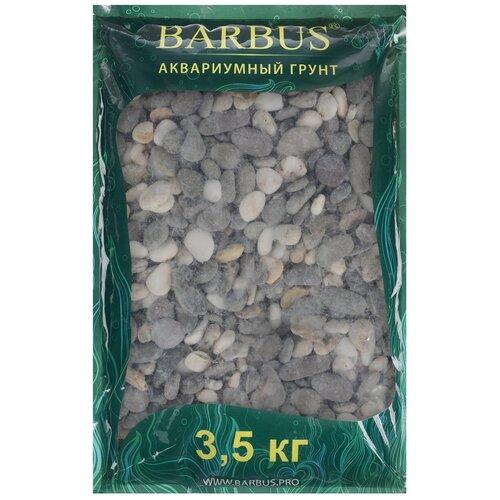 Грунт BARBUS Феодосия Gravel 017, 3.5 кг серый