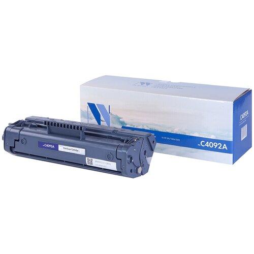 Фото - Картридж NV Print C4092A для HP, совместимый картридж nv print cf237x для hp совместимый
