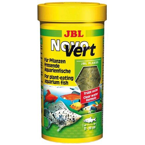 Фото - Сухой корм для рыб JBL NovoVert, 100 мл, 16 г сухой корм для рыб jbl novopleco 53 г