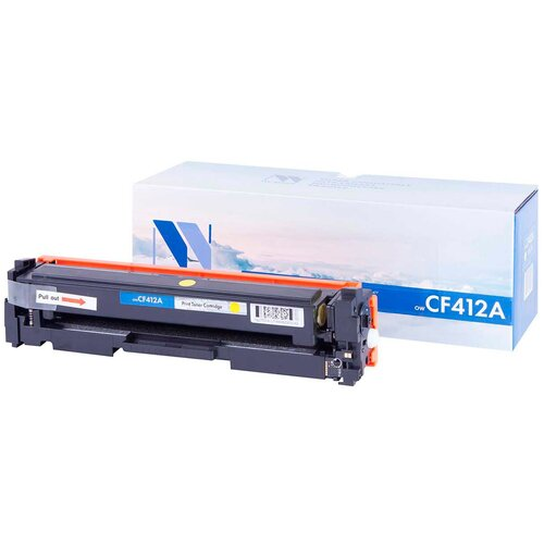 Фото - Картридж NV Print CF412A для HP, совместимый картридж nv print ce742a для hp совместимый