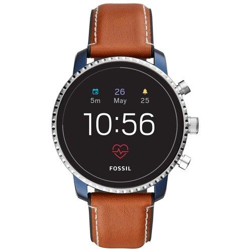Умные часы FOSSIL Gen 4 Smartwatch Explorist HR (leather) tan