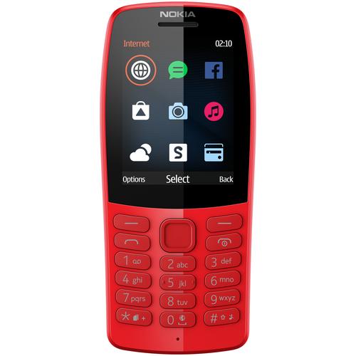 Телефон Nokia 210 красный