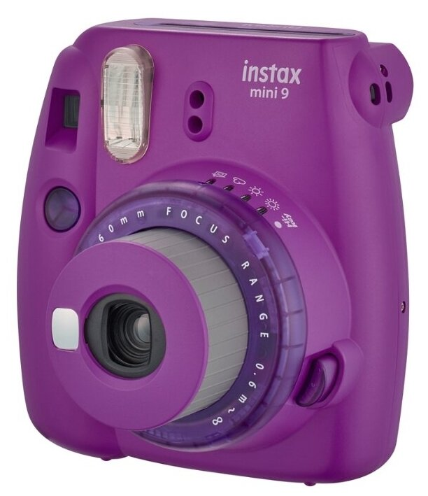 Фотоаппарат моментальной печати Fujifilm Instax Mini 9 Lollipop SET