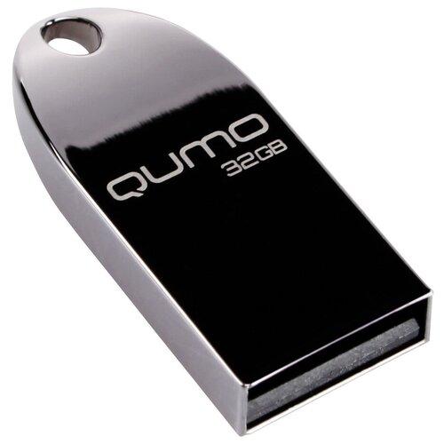Фото - Флешка Qumo COSMOS 32 GB, черный флешка qumo twist 32 gb фиолетовый