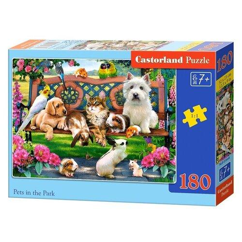 Пазл Castorland Домашние животные в парке (B-018444), 180 дет. пазл castorland к старту готов b 018406 180 дет