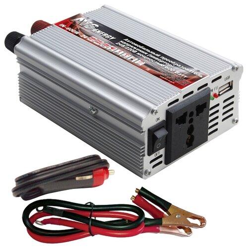 Инвертор AVS IN-600W-24 серебристый