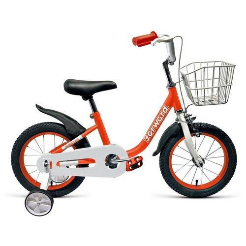 Детский велосипед FORWARD Barrio 16 (2020) красный (требует финальной сборки)