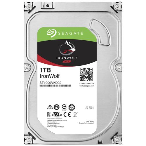 Жесткий диск Seagate IronWolf 1 TB ST1000VN002 жесткий диск seagate ironwolf 3 tb st3000vn007