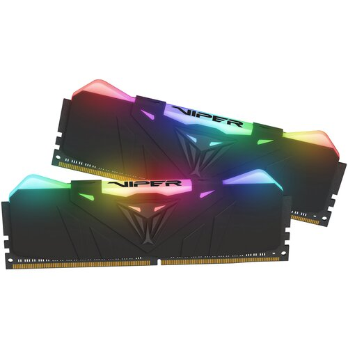 Фото - Оперативная память Patriot Memory VIPER RGB 16GB (8GBx2) DDR4 4133MHz DIMM 288-pin CL19 PVR416G413C9K оперативная память patriot memory viper rgb 16gb 8gbx2 ddr4 4133mhz dimm 288 pin cl19 pvr416g413c9k