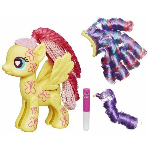 Фото - Игровой набор My Little Pony Поп-конструктор Флаттершай B0376 набор для детского творчества набор д вышивания гладью my little pony