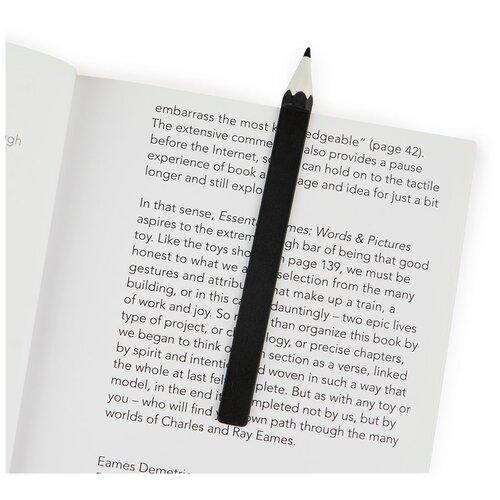 Купить Balvi Закладка для книг Graphite черная, Закладки